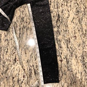 Tops - Black and Silver Holiday Top